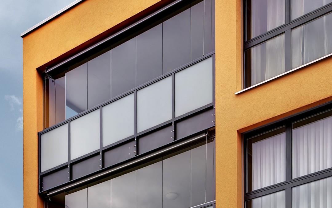 Terrasse vitrée