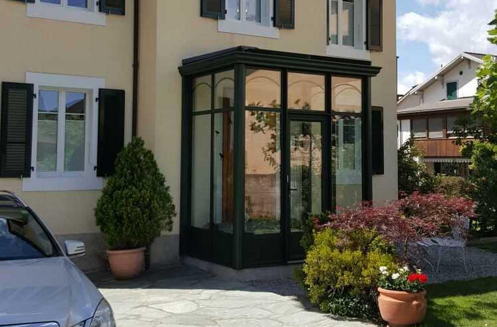 Sas d'entrée - coloris gris taupe - Attalens (Fribourg)
