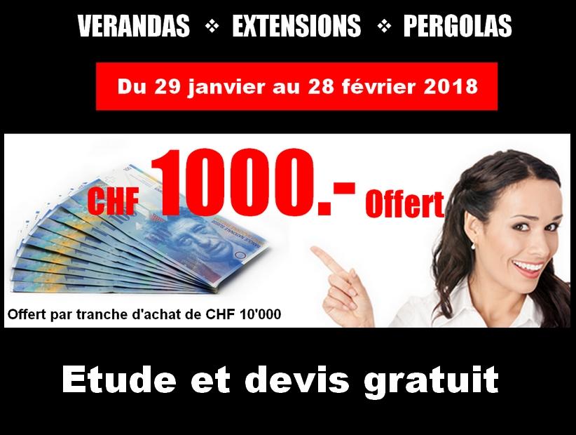 1000 chf offert par tranche de 10000 chf