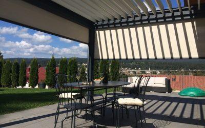 Pergola Bioclimatique Suisse : Modernité en toutes Saisons