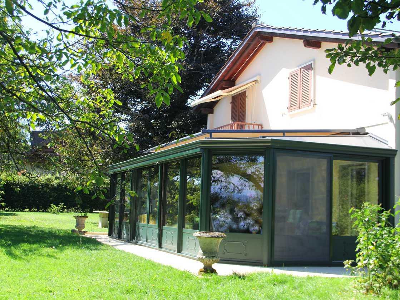 Jardin d'hiver à Savigny – canton de Vaud