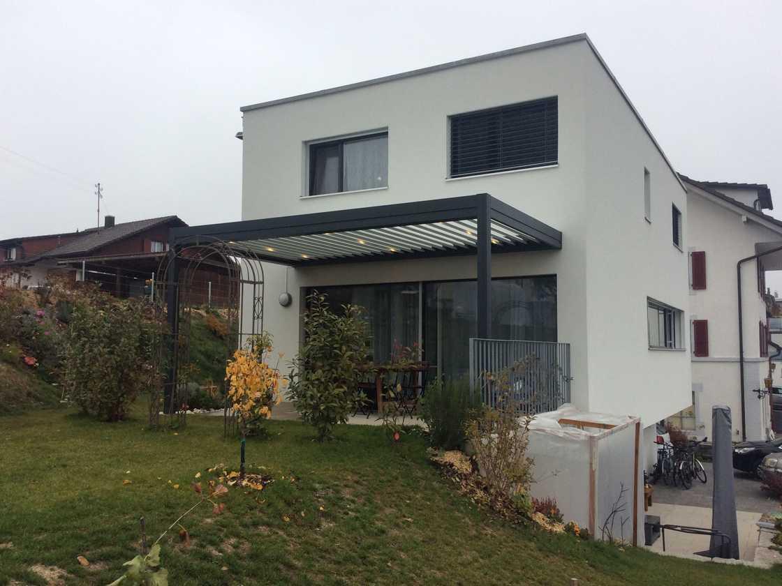 Pergola attenante Harmony – canton de Fribourg