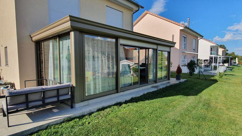 Véranda Energie à Fontaines-sur-Grandson : une nouvelle pièce à vivre
