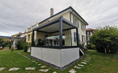 Pergola Bioclimatique à Yverdon-les-Bains