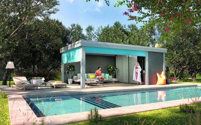 Pool House, Abri de Jardin et Carport